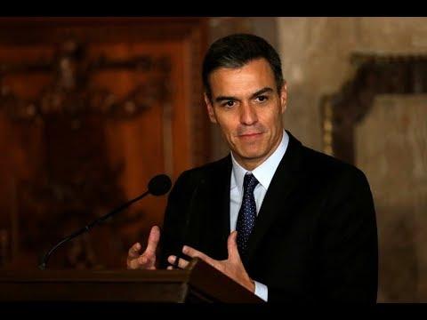 Pedro Sánchez hace una declaración oficial sobre Venezuela