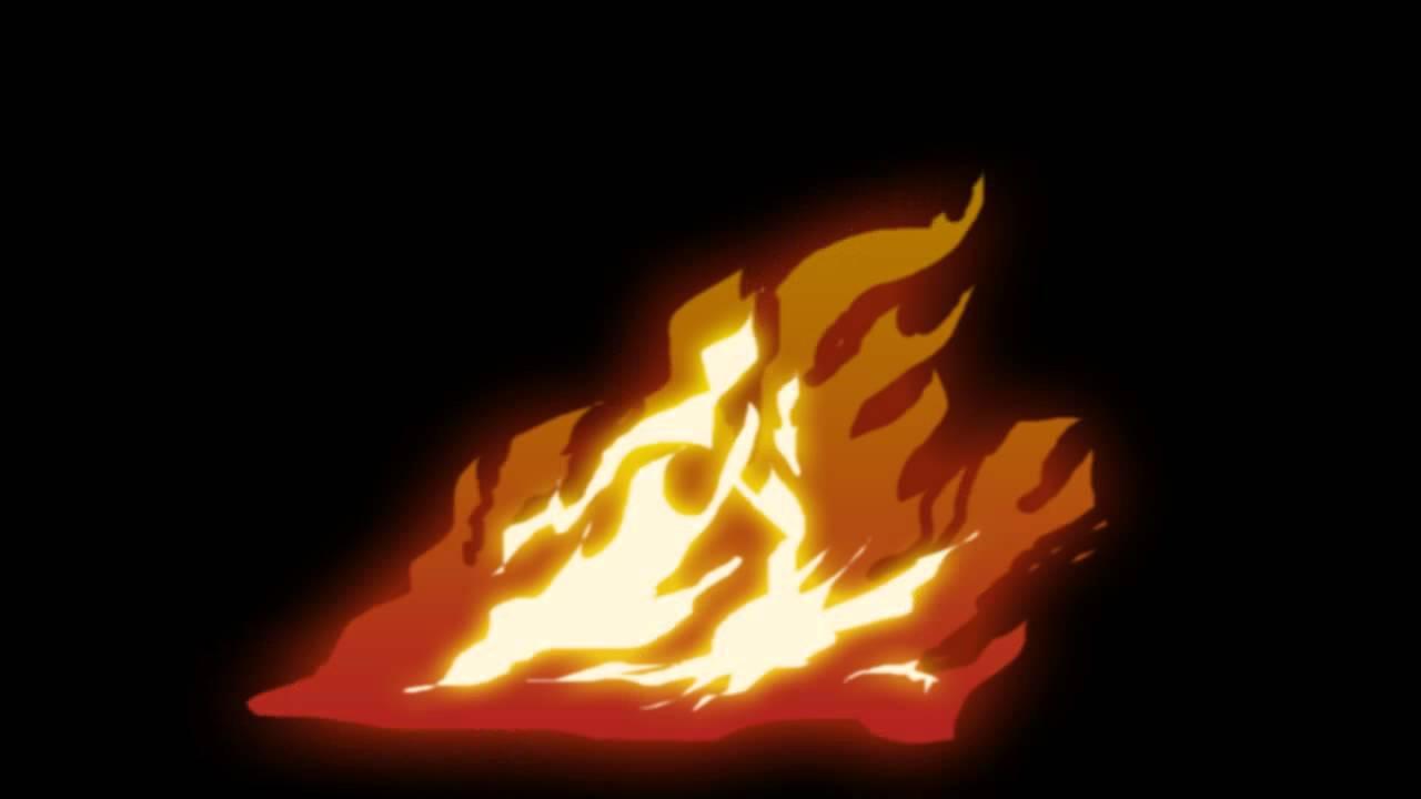 Открытки влюбленных, гифка огня без фона