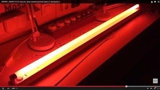 OSRAM L 36W/60 T8 G13 красная, обзор люминесцентной лампы от electropara.ru