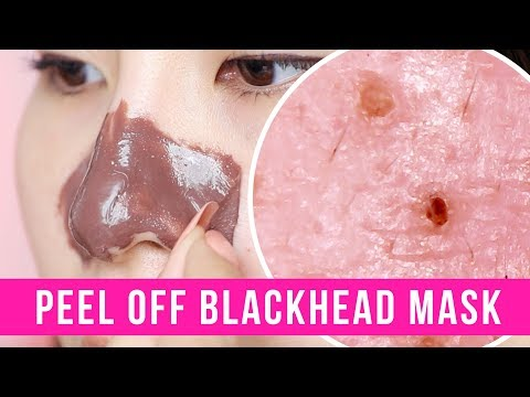 Peel Off Blackhead Mask - Tina Tries It