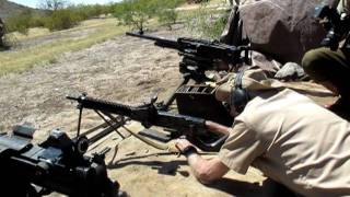大日本帝国陸軍 十一年式軽機関銃の実射  / JAPANESE TYPE 11 LMG / BANZAI 2011