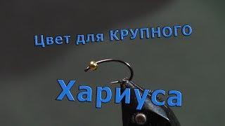 Сибирская нимфа для Крупного хариуса. Новая камера