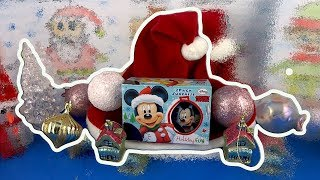 Mickey Mouse Walt Disney Merry Christmas Surprise Eggs Opening! #177