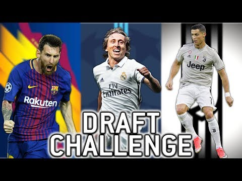 11 NAJBOLJIH EUROPSKIH KLUBOVA!! FIFA 19 DRAFT CHALLENGE