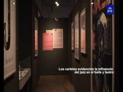 """Exposición """"El ruido alegre. Jazz en la Biblioteca Nacional de España"""""""