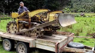 Vintage Bulldozer forgotten for a decade.. Will it start??