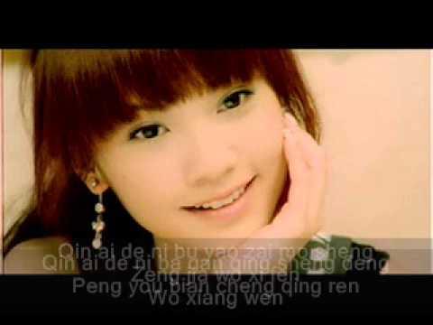 Rainie Yang (杨丞琳) Li Xiang Qing Ren/Ideal Lover (理想情人) Inst. + Lyrics (on screen)