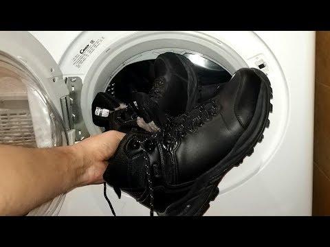 Можно ли стирать зимние ботинки в стиральной машине