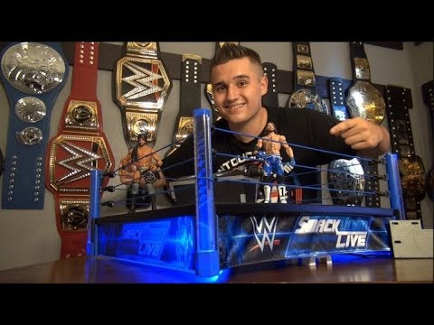 SmackDown Live Main Event Ring | Building the Ring Step by Step