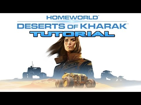 Let's Play Homeworld Deserts of Kharak - Tutorial |