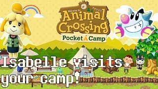 Animal Crossing Pocket Camp   Isabelle's Slideshow demo: Isabelle finally visits!