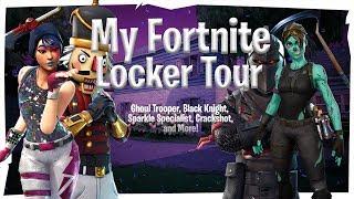 My Fortnite Locker | Ghoul Trooper, Sparkle Specialist, Crackshot, Black Knight, etc.
