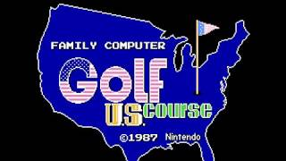 Family Computer Golf - U.S. Course(FDS)(Japan)(DV 0) Intro(Take 1)(08-02-17)