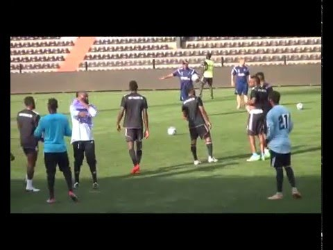 23.02.2016::TP MAZEMBE TRAINING SESSION