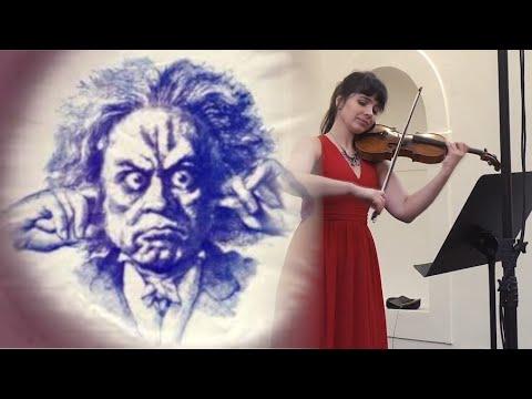Ludvig van Beethoven - Romance F major op. 50 - Markéta Janoušková - violin, Bohumír Stehlík - piano