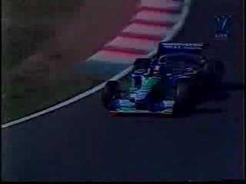 Jos Verstappen 3th place Hungary-Hungaroring