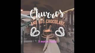 Churros with hot chocolat - Chocolatería San Ginés
