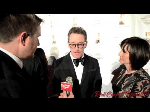 """Tom Kenny """"Ice King""""& """"Spongebob Squarepants"""" at the 41st Annual Annie Awards Red Carpet"""