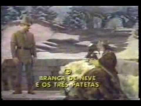 Trailer do filme Branca de Neve e os Três Patetas