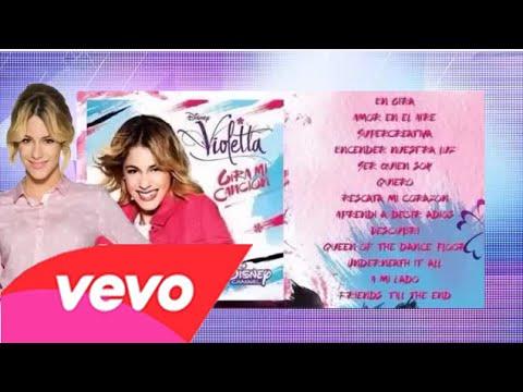 Violetta 3 - Gira mi cancin - CD COMPLETO MS