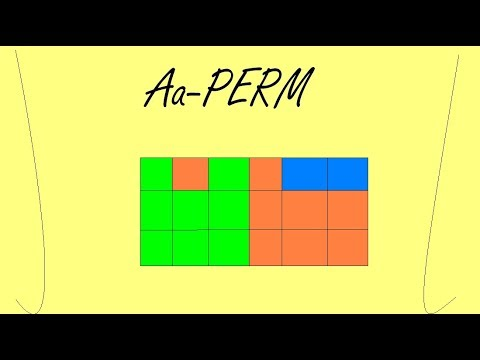 PLL Algorithm#12: Aa-Perm