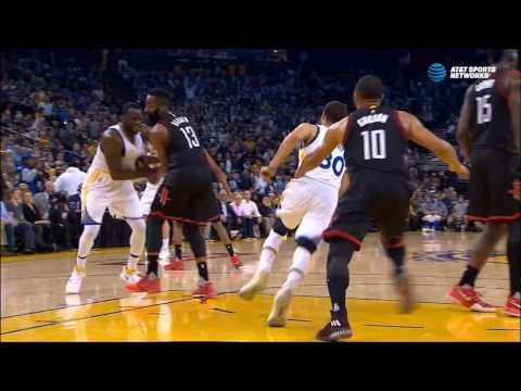 Draymond Green delivers cheap shot to James Harden