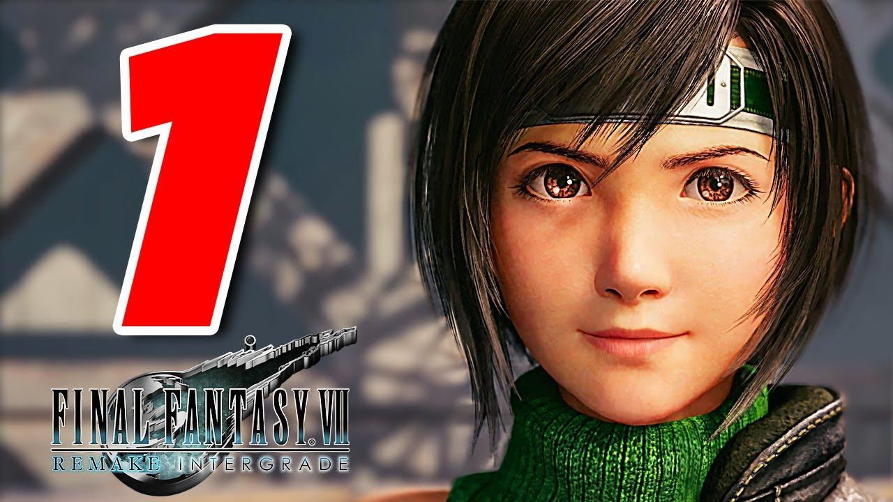 FINAL FANTASY VII REMAKE INTERMISSION  [Walkthrough Gameplay ITA PS5 - PARTE 1] - Yuffie DLC