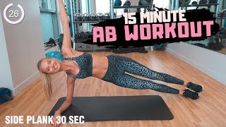 15 Minute AB Workout - Fitness Series With Romee Strijd
