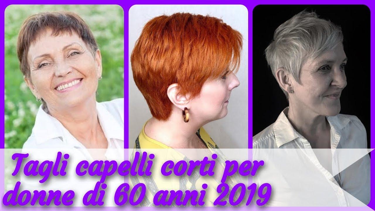 20 idee per tagli capelli corti per donne di 60 anni 2019 ...