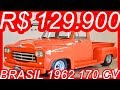 #PASTORE R$ 129.900 #Chevrolet #Brasil 6500 1962 Laranja Personalizada MT4 #Dodge 4.1 170 cv #GM