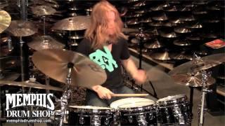 Aaron Gillespie In-Store Jam at Memphis Drum Shop