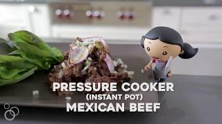 Instant Pot (Pressure Cooker) Mexican Beef