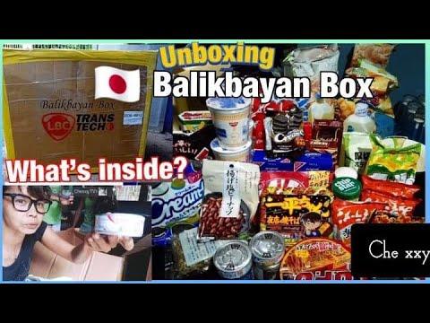 Box japan balikbayan