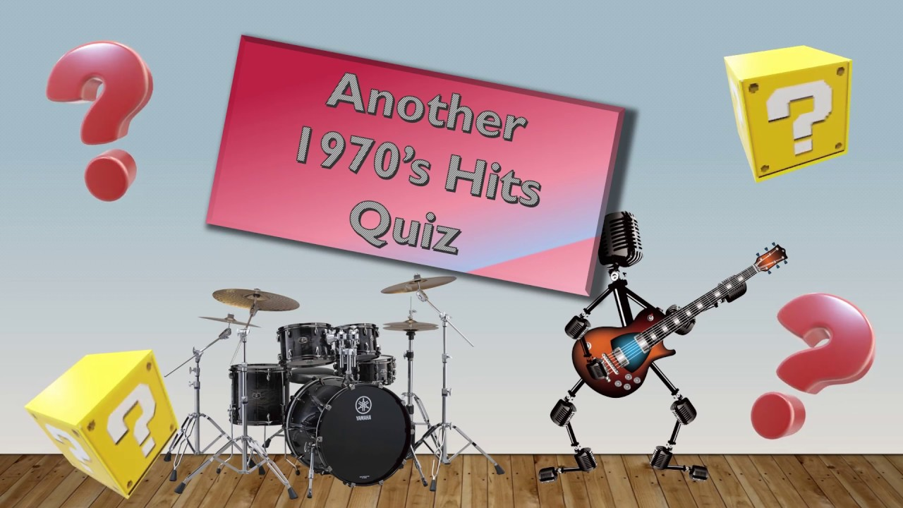 Another 70's music quiz