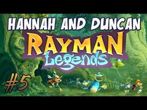 Hannah & Duncan - Rayman Legends #5 - Music Level 1!