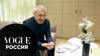 Эли Сааб о своем визите в Россию