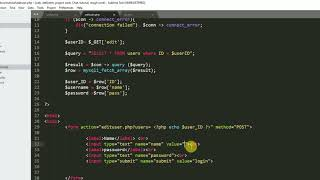 How to Update data using of mysql database using php and html form Mp3