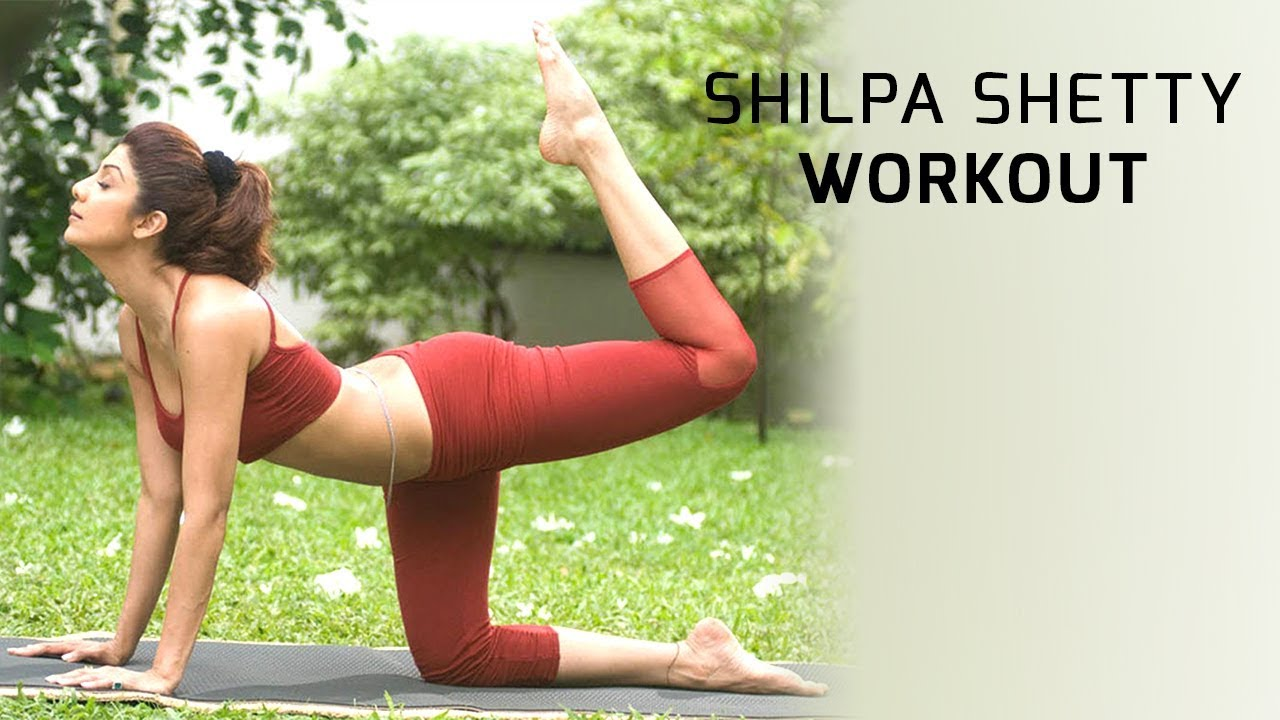 Bollywood Actress Shilpa Shetty Best Workout Video | Yoga