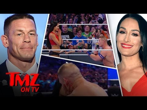 John Cena & Nikki Bella – Engagement OFF! | TMZ TV