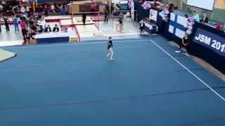 Helmi Murto - All Around & podium - Junior Finnish Championships 2014