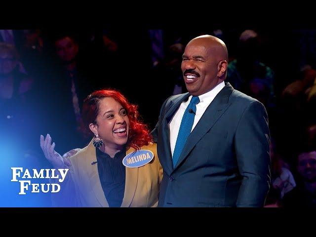 Melinda and Wanda win big!   Family Feud