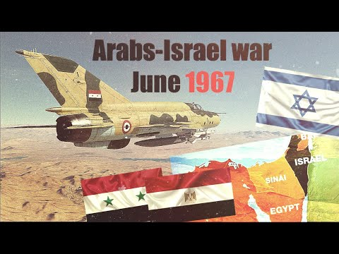 Arabs - Israel Six Days War - 1967- Air Combat History Of Operation Focus - DCS  | Israel War
