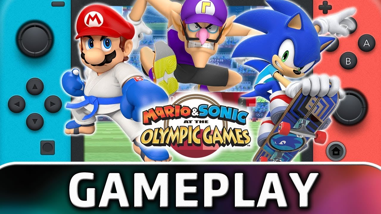 Switch 2020 Games.Mario Sonic At The Olympic Games Tokyo 2020 10 Minutes