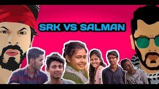 SRK Fans VS Salman Fans   Bangla Funny Video 2018   FunHolic Chokrey