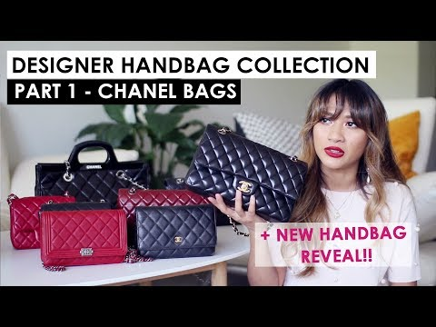CHANEL DESIGNER HANDBAG COLLECTION + NEW CHANEL REVEAL!