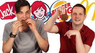 Fast Food Hamburger Patty Taste Test