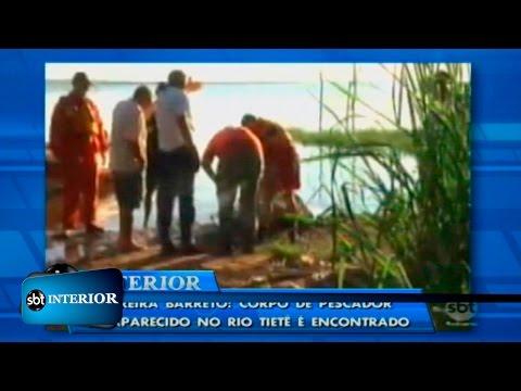Pereira Barreto: corpo de pescador desaparecido no Rio Tietê é encontrado