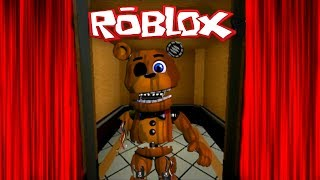 FIVE NIGHT'S AT FREDDY'S EN UN ELEVADOR NORMAL DE ROBLOX | FNAF