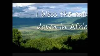 Toto Africa Lyrics high quality audio   YouTube