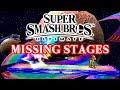 Super Smash Bros. Ultimate Missing Stages